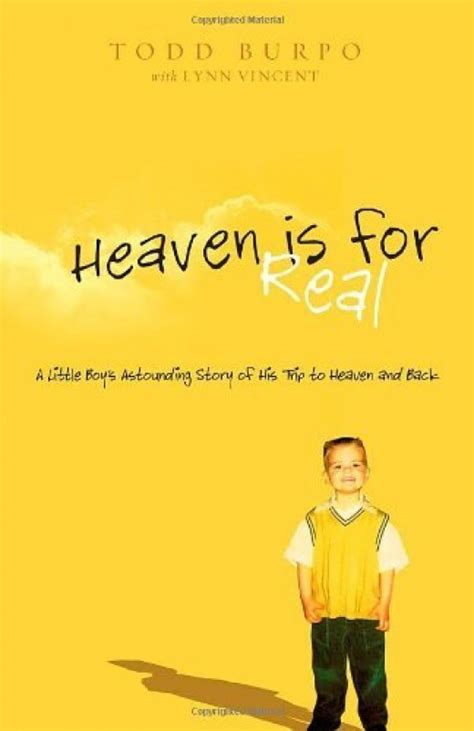 heaven is for real picture book review heaven is for real by todd burpo
