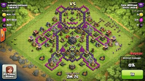 coc layout funny clash of clans bear base design clashofclans clash