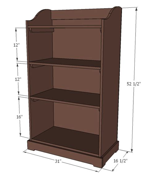 diy woodworking plans childrens bookcase plans free