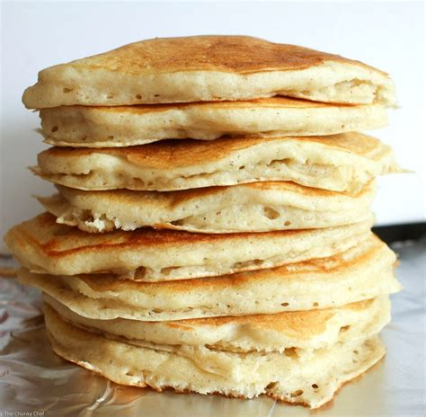 pancakes pictures vanilla cinnamon buttermilk pancakes the chunky chef