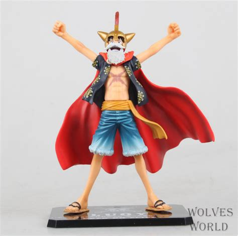 One Figure Luffy Pop Msib high quality japanese amine pop one gladiator monkey d luffy 17cm pvc