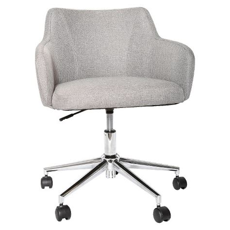 target desk chair upholstered desk chair grey room essentials target