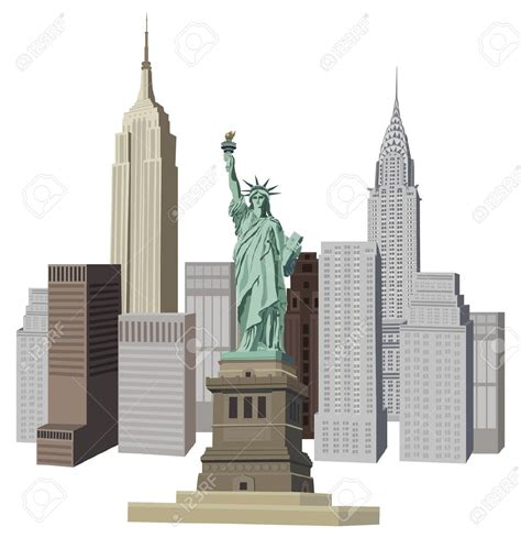 new free new york clipart new york buildings clipart pencil and