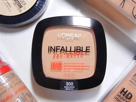 L Oreal Infallible Pro Matte Bedak merk bedak yang tahan banget sama keringat bisa dipakai