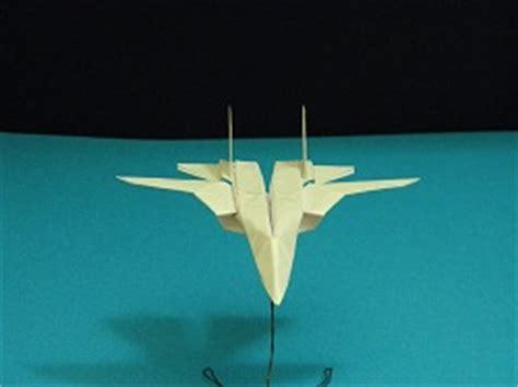 Origami F 14 - origami f 14 tomcat tutorial crafting paper