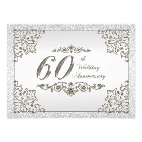 60th Anniversary Cards