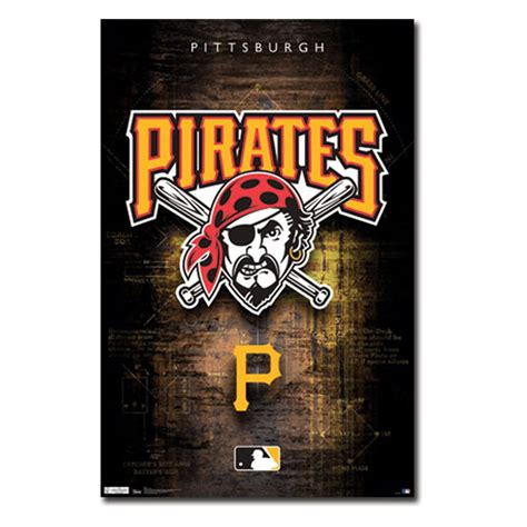 Home Decor Pittsburgh pittsburgh pirates logo 11 wall poster