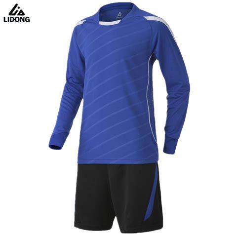 Gamis Set Jersey 3 new s sleeve jersey set 2017 survetement football suit maillot de foot blank