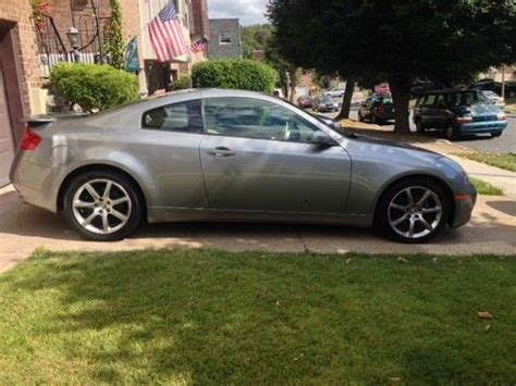 infiniti g35 stats sell used 2003 infiniti g35 coupe 2 door 3 5l in
