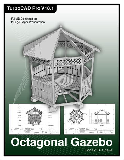 gazebo tutorial turbocad gallery