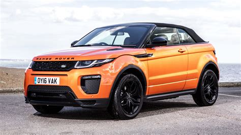 orange range rover evoque range rover evoque convertible 2 0 td4 hse dynamic 2016
