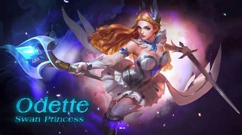 wallpaper mobile legend odette swan song your guide to mobile legends odette spout 360