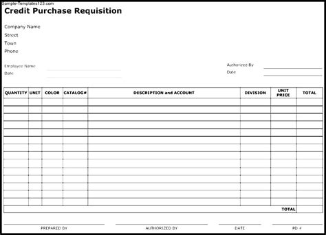 requisition form template sle requisition form template