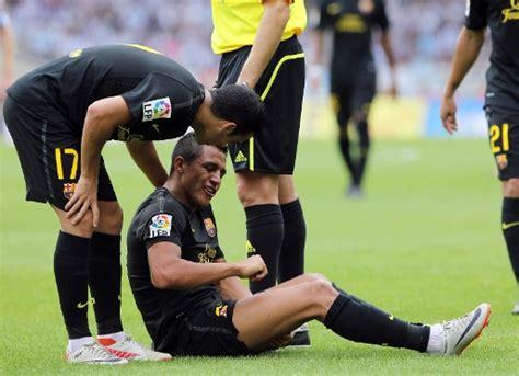 alexis sanchez knee injury alexis torn ischiotibial muscle fcbarcelona cat