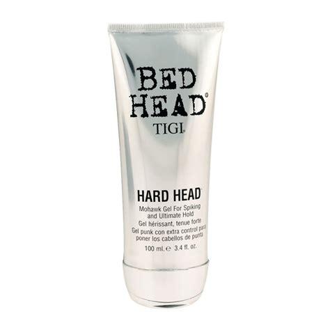 tigi bed head hard head tigi bed head hard head mohawk gel 100 ml 49 95 kr