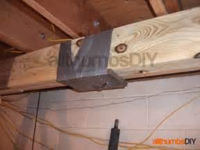 Floor Joist Repair Replacing Floor Joists Diy Crafts