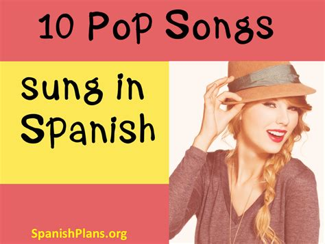 song in spanish english pop music in spanish spanishplans org
