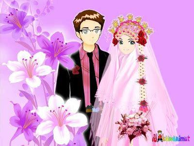 Wallpaper Wedding Animasi by Kata Ucapan Selamat Pernikahan Nuansa Islam Naranua