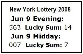 Lottery Numbers Evening Mba by Cullinane Journal 2008 June 01 15