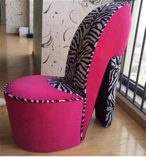 heel shaped couch wholesaler leopard high heel chair leopard high heel