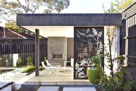 australian house garden feature outdoor rooms ian