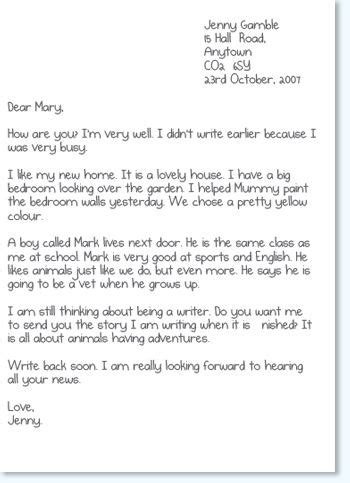layout informal letter uk activity 2c informal letters these are letters to friends