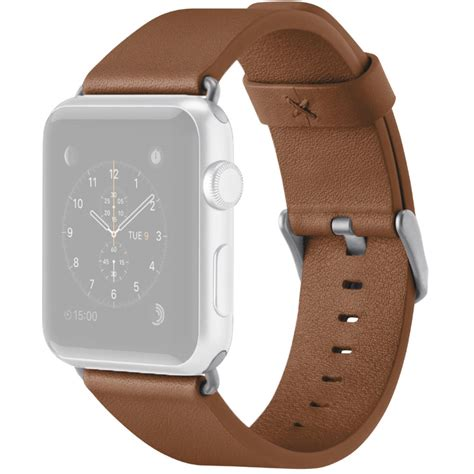 Monochrome Leather Band For Apple 38mm 10 belkin classic leather band for apple f8w731btc01 b h