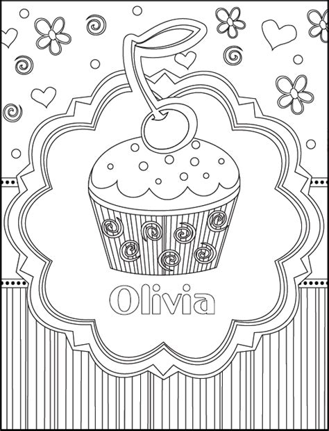 Happy Birthday Coloring Sheets To Print Coloring Book Personalized Happy Birthday Coloring Pages