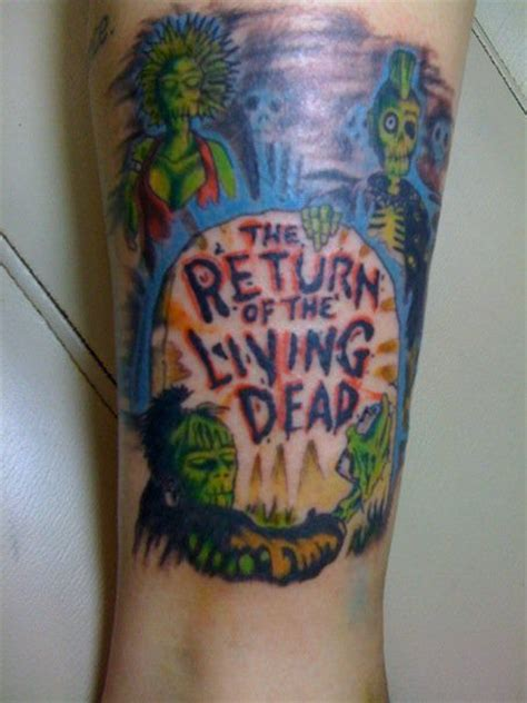 living dead tattoo 17 best images about return of the living dead tattoos on