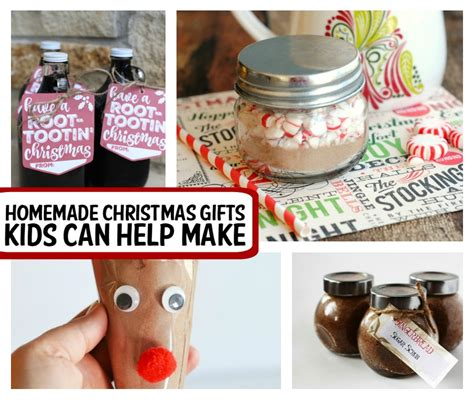 homemade christmas gifts for mom that kids can make www