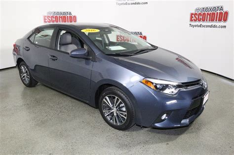 2016 toyota corolla le plus certified pre owned 2016 toyota corolla le plus 4dr car in