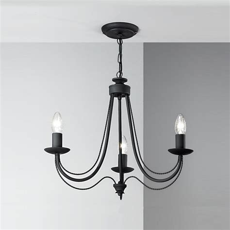 Black Light Fittings Ceiling Franklite Fl2173 3 Philly 3 Light Black Ceiling Fitting