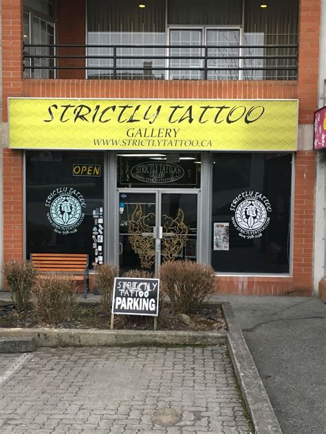 strictly tattoo gallery vancouver strictly tattoo gallery opening hours 2 3003 kingsway