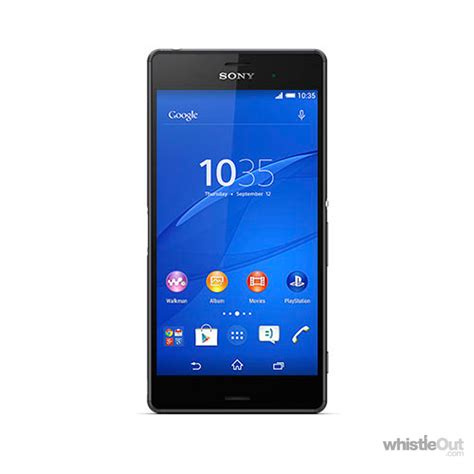 Hp Sony Xperia X3 sony xperia z3 compare plans deals prices whistleout
