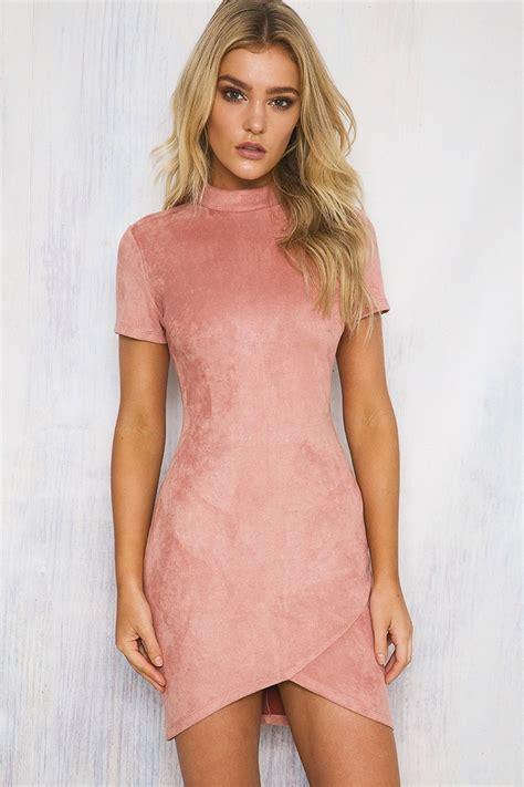 Dress Kaftan Dusty Pink florence dress dusty shop new