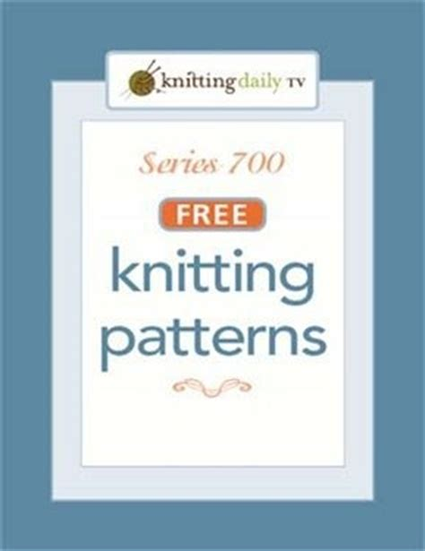 knitting daily tv patterns 17 best images about knitting e books on
