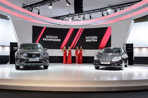 nissan moscow nissan brought stuff to the moscow motor show and nobody