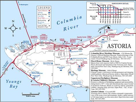 map astoria oregon astoria oregon usa cruise port of call