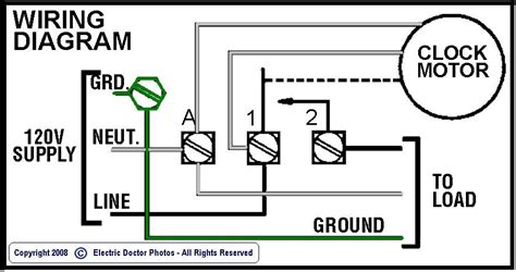 intermatic mechanical timer wiring diagram wiring diagrams