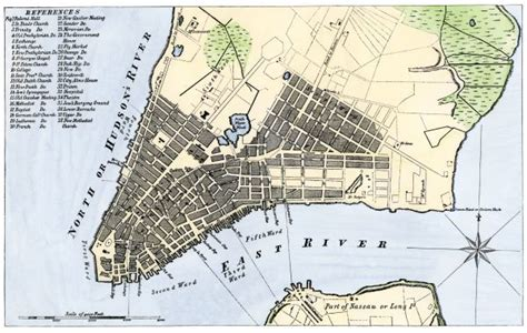 manhattan safety map manhattan map 1789 map of the city of new york 1789