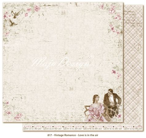 romantic pollution love is in the air part 1 austenticity maja design vintage romance collection 12 quot x12 quot double