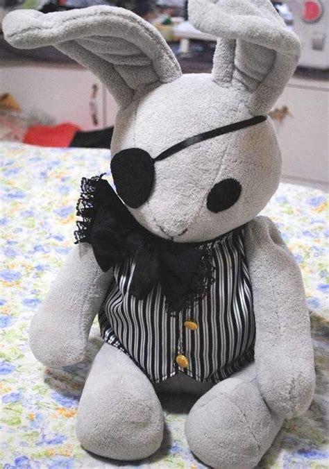 Handmade Anime Plushies - 19 black butler earl ciel phantomhive s rabbits plushie