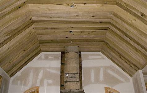 wood ceilings  wide tongue  groove poplar lumber