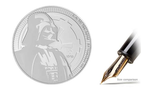 Coin Wars 2017 buy 2017 1 oz silver wars coins darth vader kitco