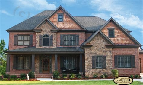 brick home plans brick house plans with basements house plans with brick and stone exterior craftsman style