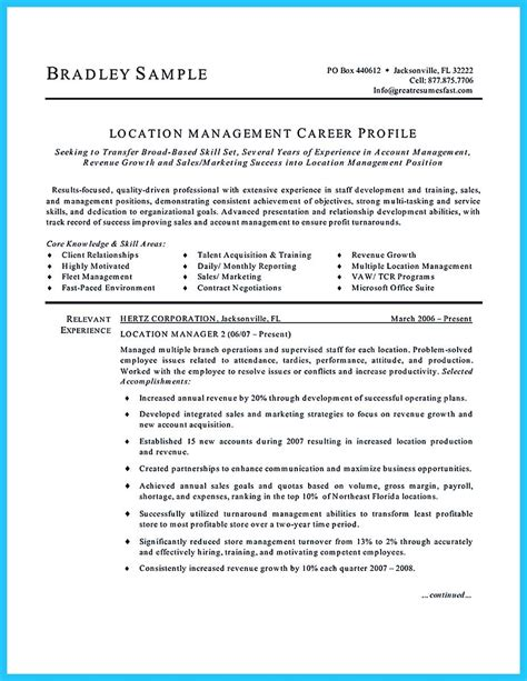 Assistant Manager Resume Objective Sle by Property Manager Resume Objective 28 Images There Are