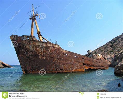 boat crash greece ship crash in greece stock photo image of wreck