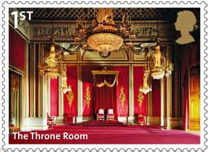 buckingham palace throne room historic past of buckingham palace celebrated in set of class sts by royal mail daily