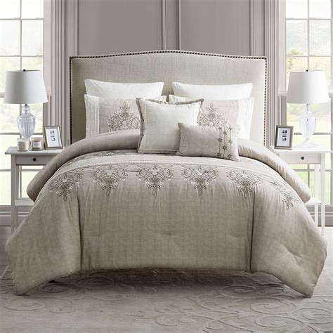 elegant bedding sets elegant home 7 piece comforter set