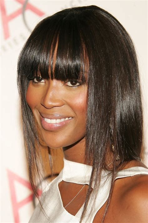 naomi cbell hairstyle bangs pictures naomi cambell bangs naomi cbell in bangs trend zimbio